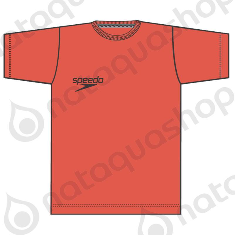 CLUB BRAND TEE JUNIOR - RED Color