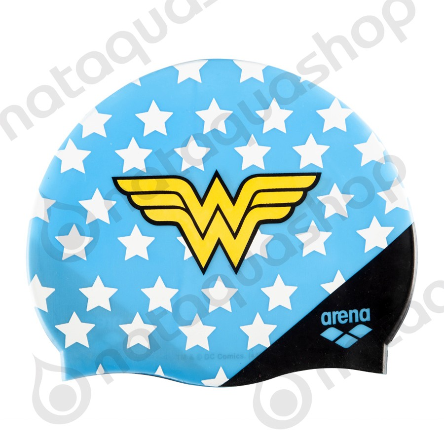 HEROES SILICONE CAP WONDER WOMAN couleurs