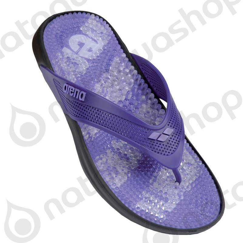 MARCO THONG MAN grey/purple ARENA - SWIM EQUIPMENT - Nataquashop
