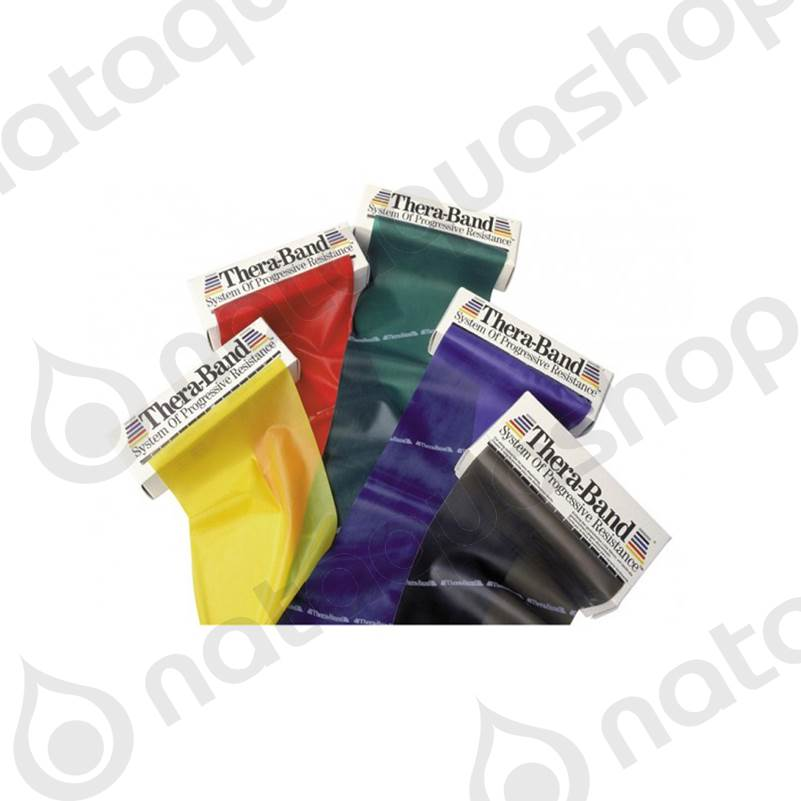 ASSORTIMENT DE BANDES D'EXERCICES DE 1.5M couleurs