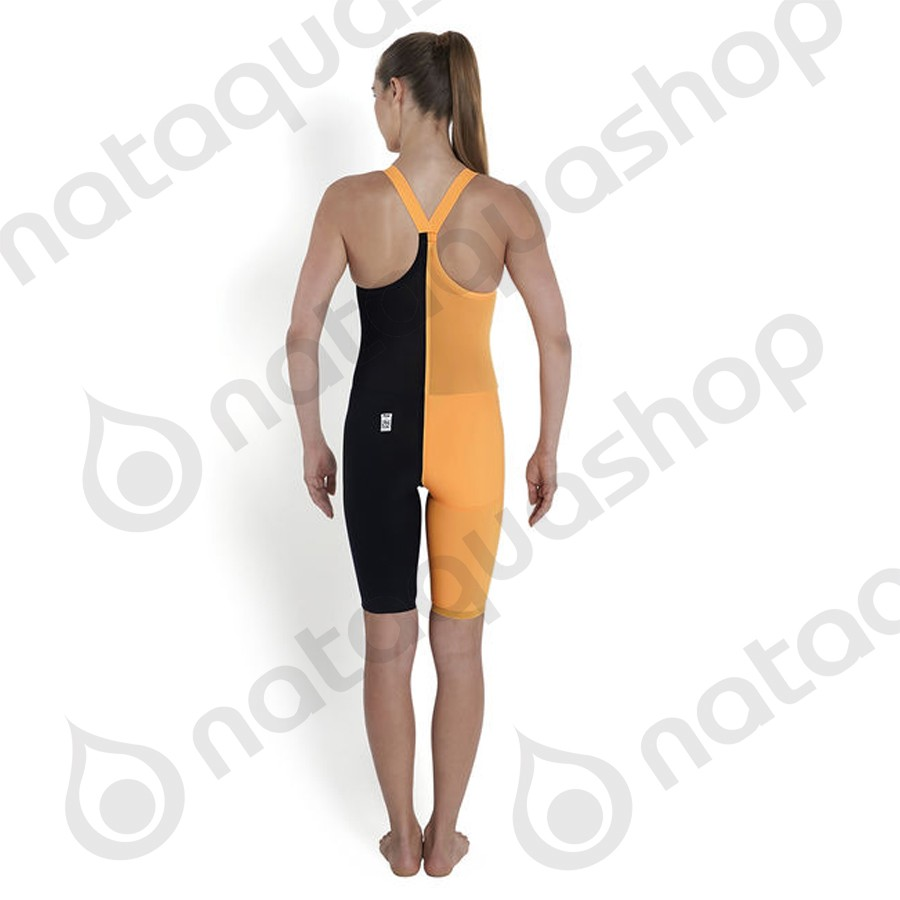 b6744ea140 FASTSKIN LZR RACER ELITE 2 - CLOSED BACK Navy / Orange SPEEDO - SALES