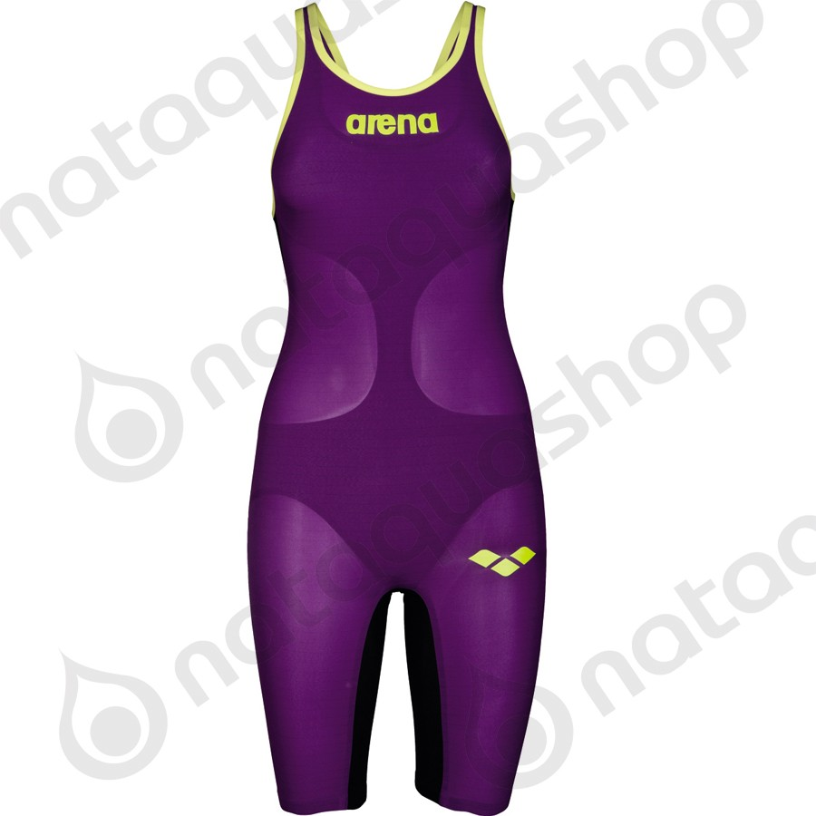 CARBON AIR DOS OUVERT plum/fluo yellow