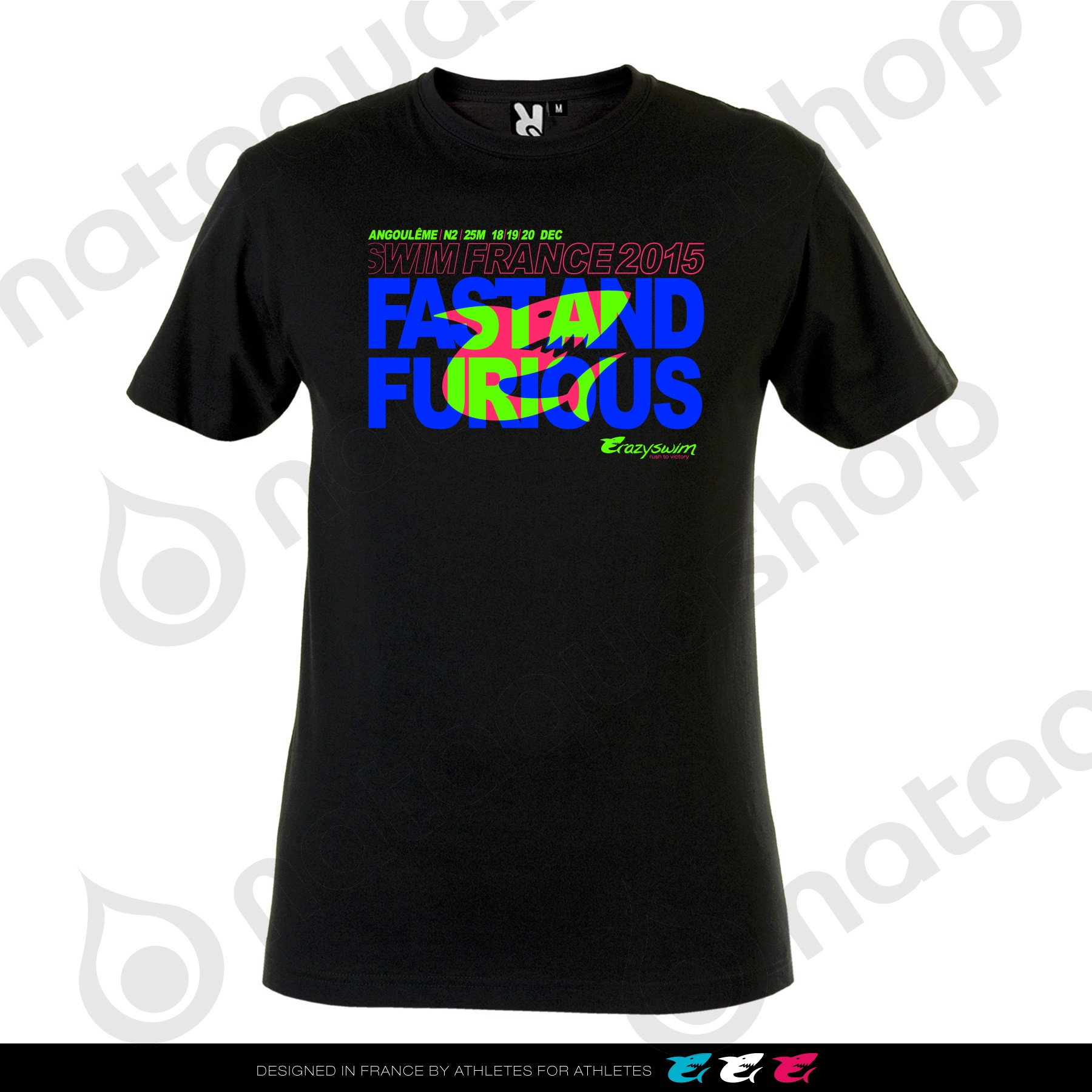 TEE FAST AND FURIOUS couleurs