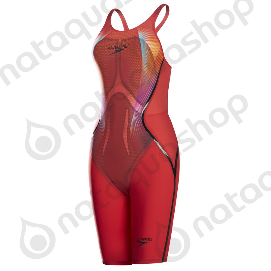 FASTSKIN LZR RACER X DOS OUVERT NEW rouge / noir couleurs