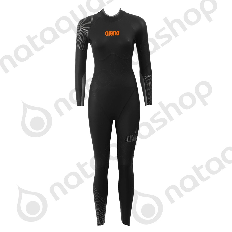 W TRIWETSUIT BLACK Color