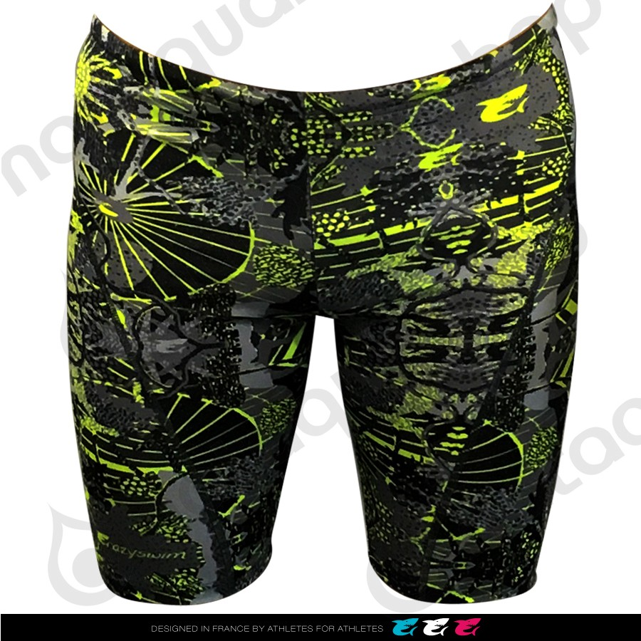 DEEP OCEAN TOTAL PRINTED JAMMER - HOMME Black couleurs