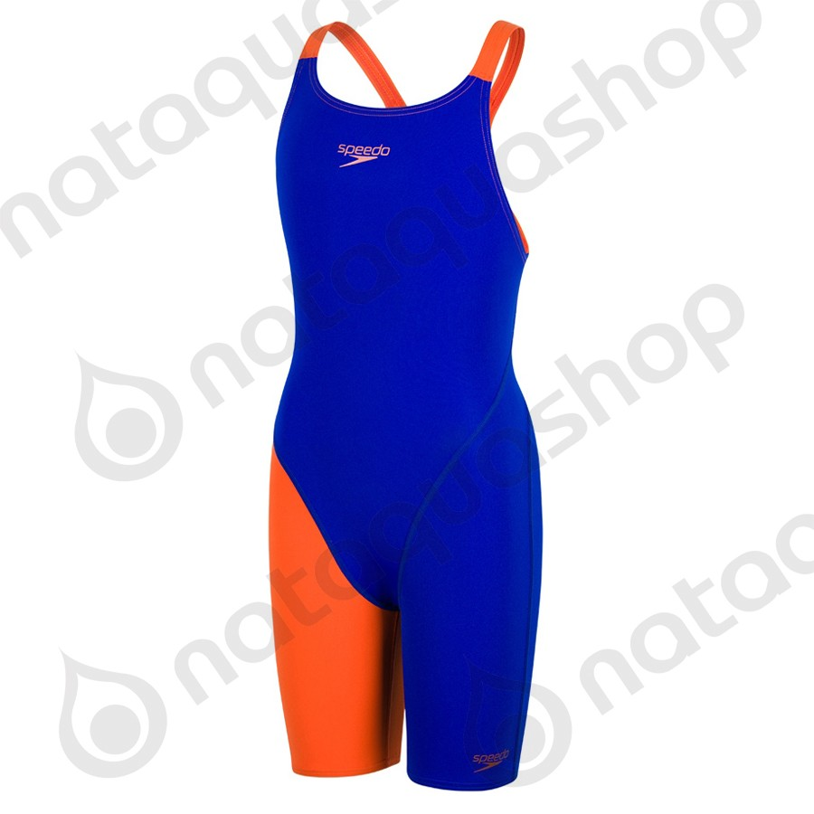 FASTSKIN ENDURANCE+ OPENBACK KNEESKIN Blue/Orange couleurs