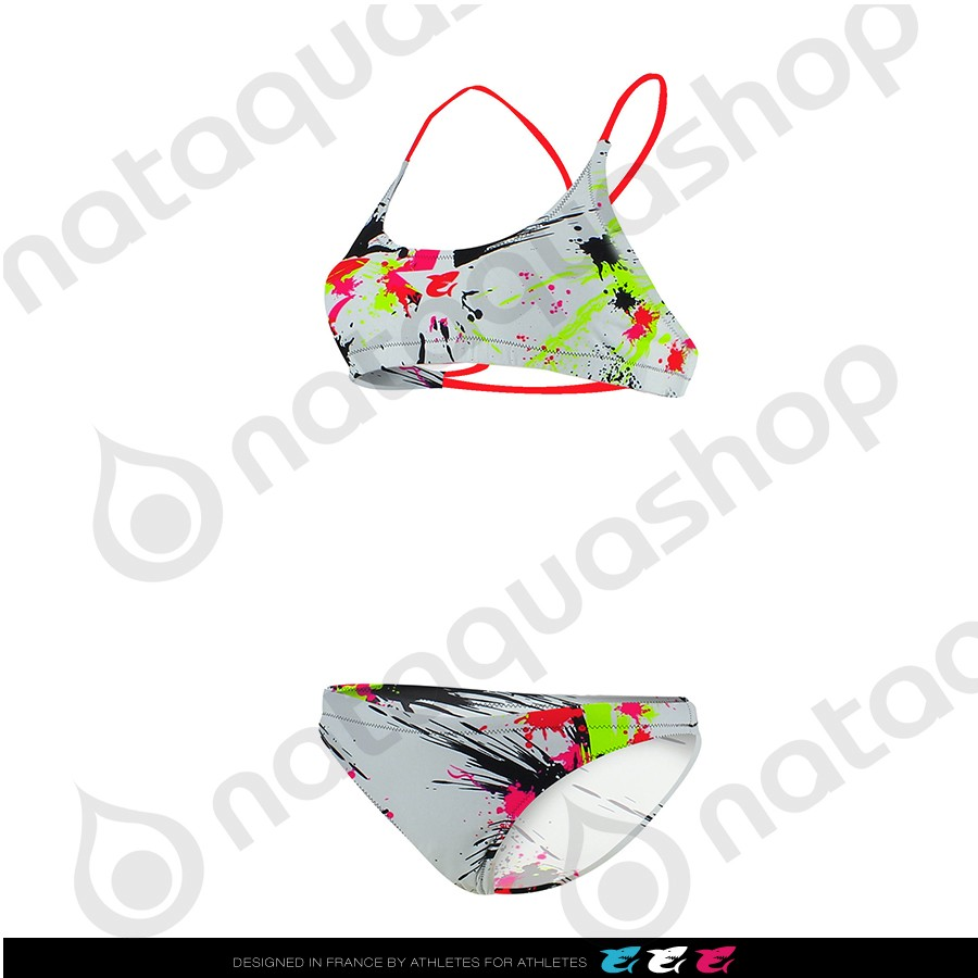 AMAZONE PAINTBALL - FEMME Blanc couleurs