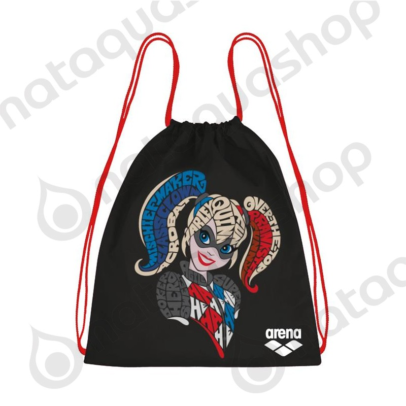 SUPER HERO FAST SWIMBAG HARLEY QUINN