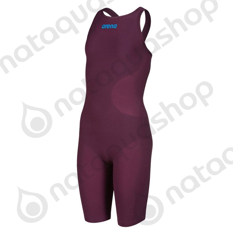 POWERSKIN R-EVO ONE FSBLO - JUNIOR FILLE Red Wine / Turquoise couleurs