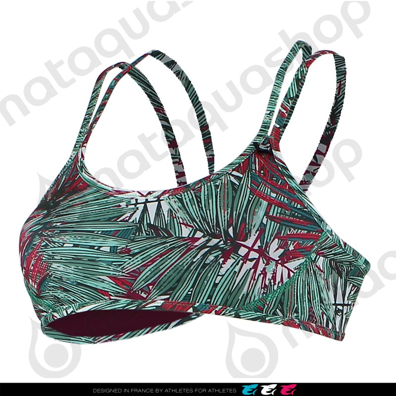 SHANI REVERSIBLE JUNGLE MANIA - FEMME Kaki couleurs