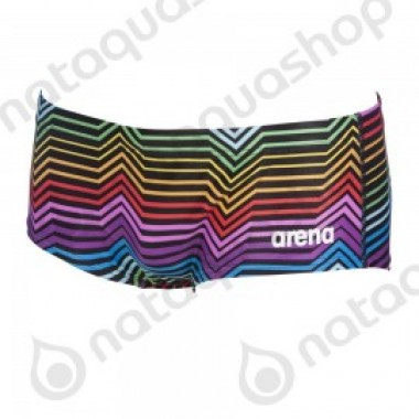M MULTICOLOR STRIPES LOW WAIST SHORT - photo 0