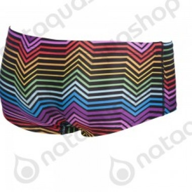 M MULTICOLOR STRIPES LOW WAIST SHORT - photo 1