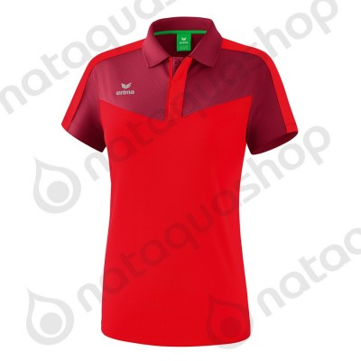 POLO SQUAD - LADIES burgundy/red