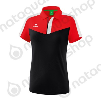 POLO SQUAD - LADIES red/black/white