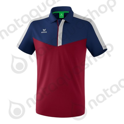 POLO SQUAD - ADULT new navy/bordeaux/silver grey