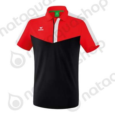 POLO SQUAD - ADULT red/black/white
