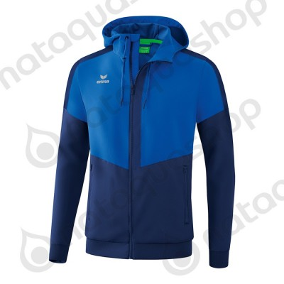 VESTE A CAPUCHE TRACKTOP SQUAD - ADULTE new roy/new navy