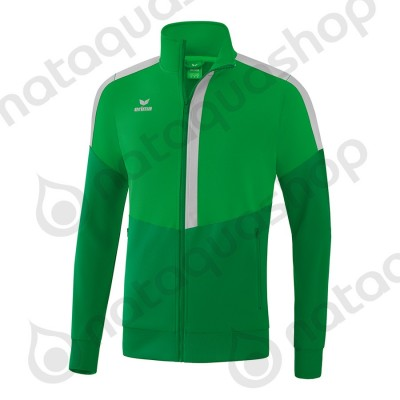 VESTE WORKER SQUAD - JUNIOR fern green/smaragd/silver grey