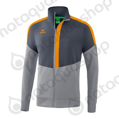 VESTE WORKER SQUAD - JUNIOR slate grey/monument grey/new orange