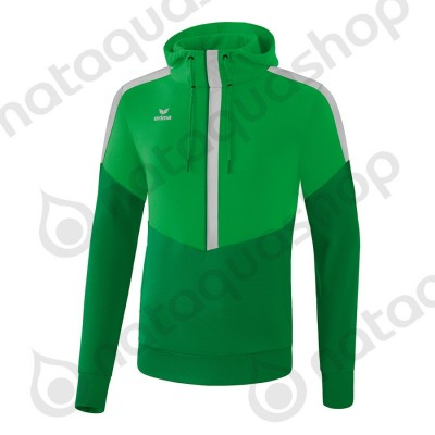 SWEAT A CAPUCHE SQUAD - ADULTE fern green/smaragd/silver grey