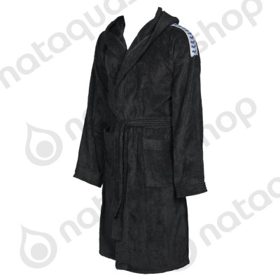CORE SOFT ROBE Black/ white