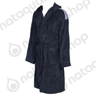 CORE SOFT ROBE Navy/ White