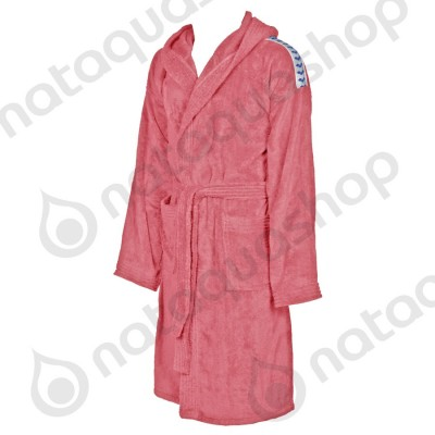 CORE SOFT ROBE pale rose/white