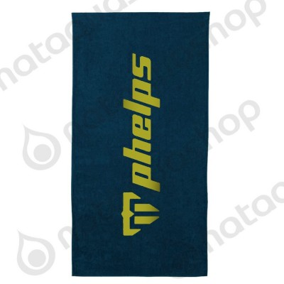 PHELPS TOWEL navy/bright green