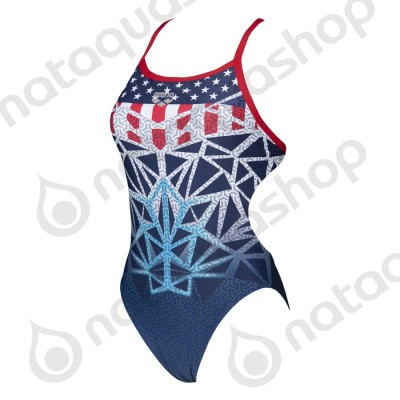 W OG CHALLENGE BACK ONE PIECE - FEMME USA