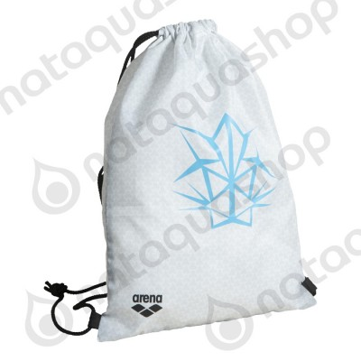 OG TEAM SWIMBAG White/turquoise