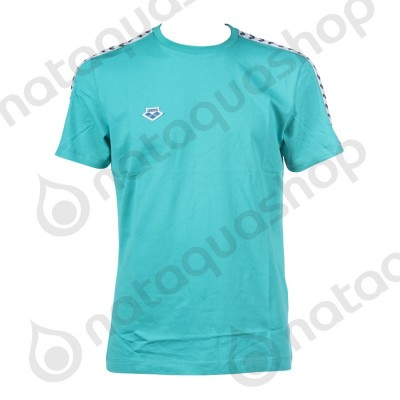 M T-SHIRT TEAM  - HOMME Mint/white