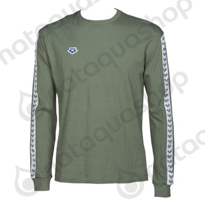 M LONG SLEEVE SHIRT TEAM - HOMME Army