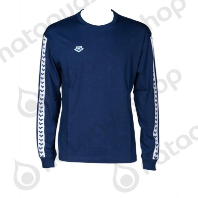 M LONG SLEEVE SHIRT TEAM - HOMME Navy