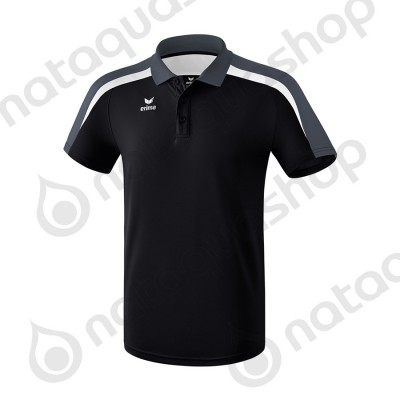POLO LIGA 2.0 - MEN noir/blanc/dark grey