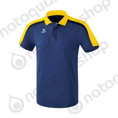 POLO LIGA 2.0 - HOMME new navy/jaune/dark navy