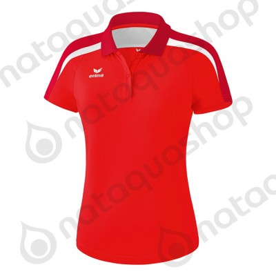 POLO LIGA 2.0 - LADIES rouge/tango rouge/blanc