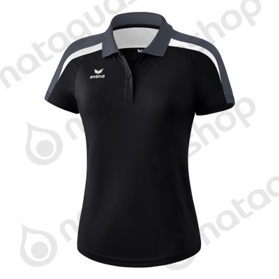 POLO LIGA 2.0 - LADIES noir/blanc/dark grey