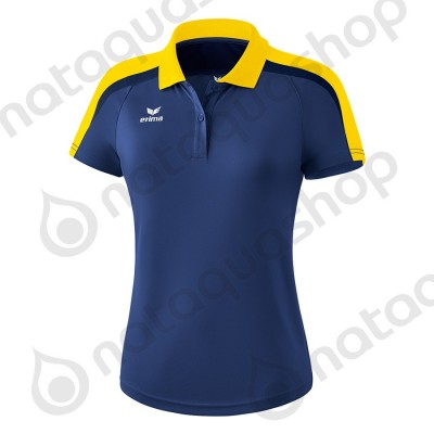 POLO LIGA 2.0 - FEMME new navy/jaune/dark navy