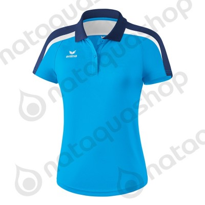 POLO LIGA 2.0 - LADIES curacao/new navy/blanc