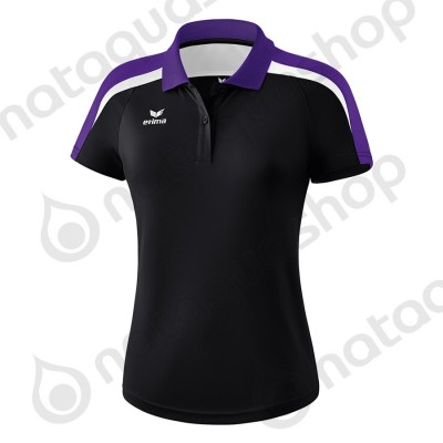 POLO LIGA 2.0 - LADIES noir/dark violet/blanc