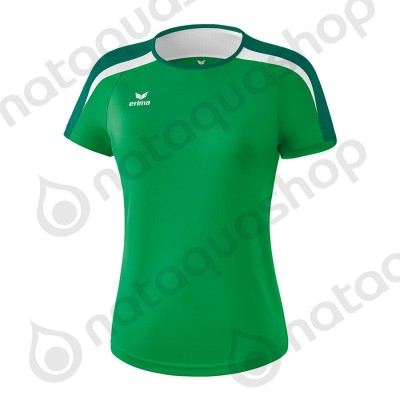 T-SHIRT LIGA 2.0 - LADIES emeraude/evergreen/blanc