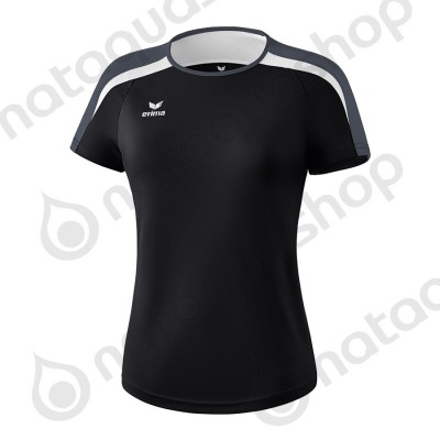 T-SHIRT LIGA 2.0 - LADIES noir/blanc/dark grey