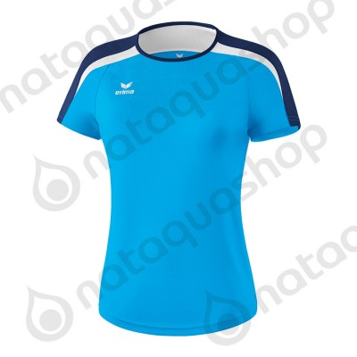 T-SHIRT LIGA 2.0 - LADIES curacao/new navy/blanc