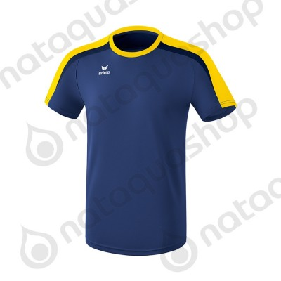 T-SHIRT LIGA 2.0 - HOMME new navy/jaune/dark navy