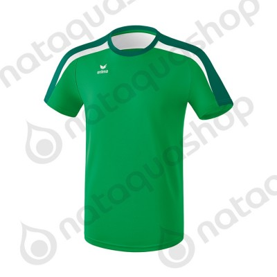 T-SHIRT LIGA 2.0 - JUNIOR emeraude/evergreen/blanc
