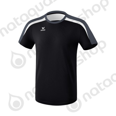 T-SHIRT LIGA 2.0 - JUNIOR noir/blanc/dark grey