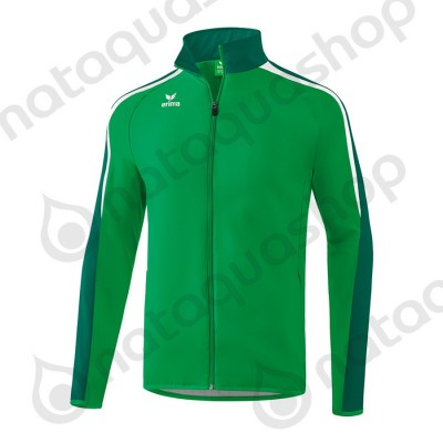 VESTE DE PRESENTATION LIGA 2.0 - JUNIOR emeraude/evergreen/blanc