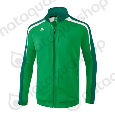 VESTE D'ENTRAINEMENT LIGA 2.0 - ADULTE emeraude/evergreen/blanc