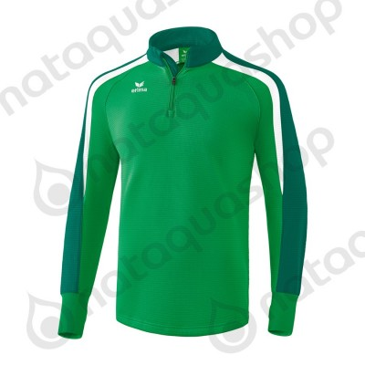 SWEAT D'ENTRAINEMENT LIGA 2.0 - JUNIOR emeraude/evergreen/blanc